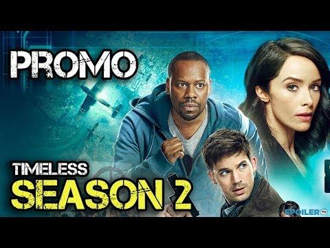 "Timeless Season 2 ""Save History"" Promo"