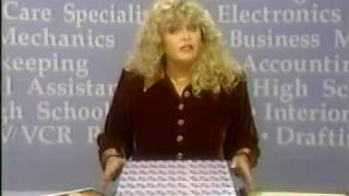 1990's INFOMERCIAL HELL #10: Sally Struthers for ICS Home Study:  even YOU can repair VCRs!