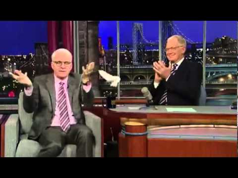 Steve Martin talks about Meeting Elvis on the David Letterman Show