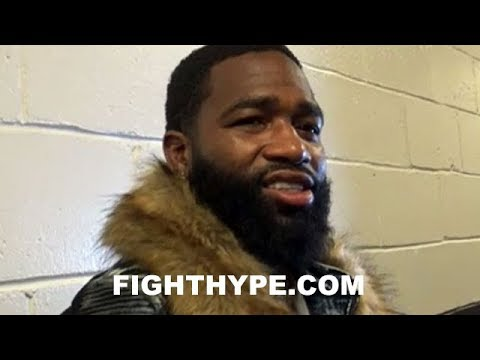 "ADRIEN BRONER REACTS TO ERROL SPENCE STOPPING LAMONT PETERSON: ""HUH?"""