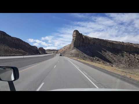 BigRigTravels Interstate 70 West in Utah February 27, 2018