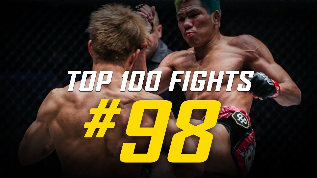 Petchdam vs. Momotaro | ONE Championship's Top 100 Fights | #98