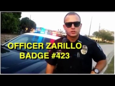 Florida Fort Myers police corrupt cops harass citizen activist  from 2010