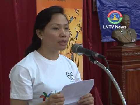 Lao NEWS on LNTV-The government will boost cooperation in Child Labor Law13/6/2013