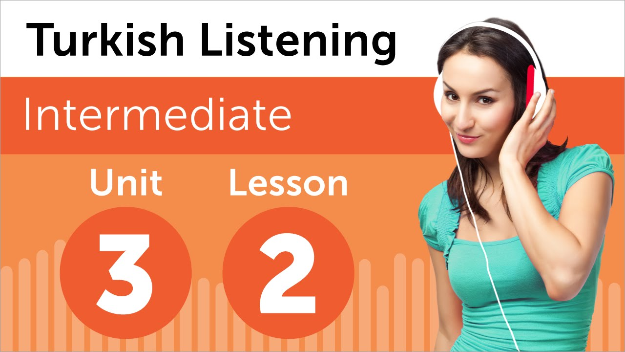 Turkish Listening Practice - Delivering a Sales Report in Turkish