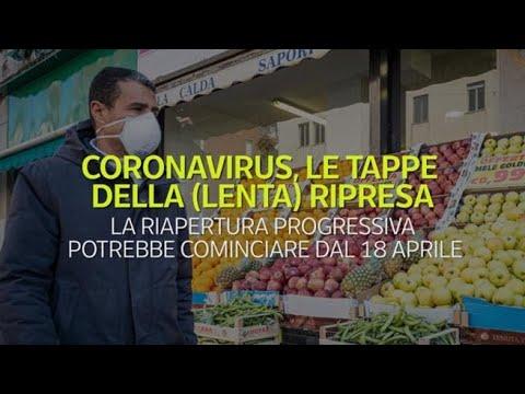 Corriere della Sera: Coronavirus, le possibili tappe della (lenta) ripresa