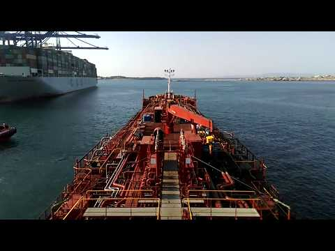 Chemical tanker Time Lapse