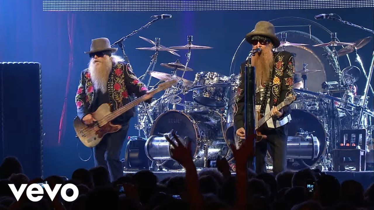 Zz Top Gimme All Your Lovin Live Youtube