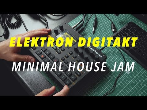 My First Minimal House Jam With Elektron Digitakt | Distilled Noise