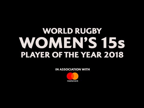 Nominees for World Rugby Women's 15s Player of the Year 2018!