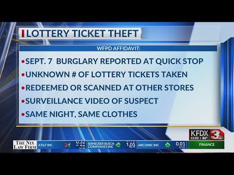 Burglary And Lottery Ticket Theft