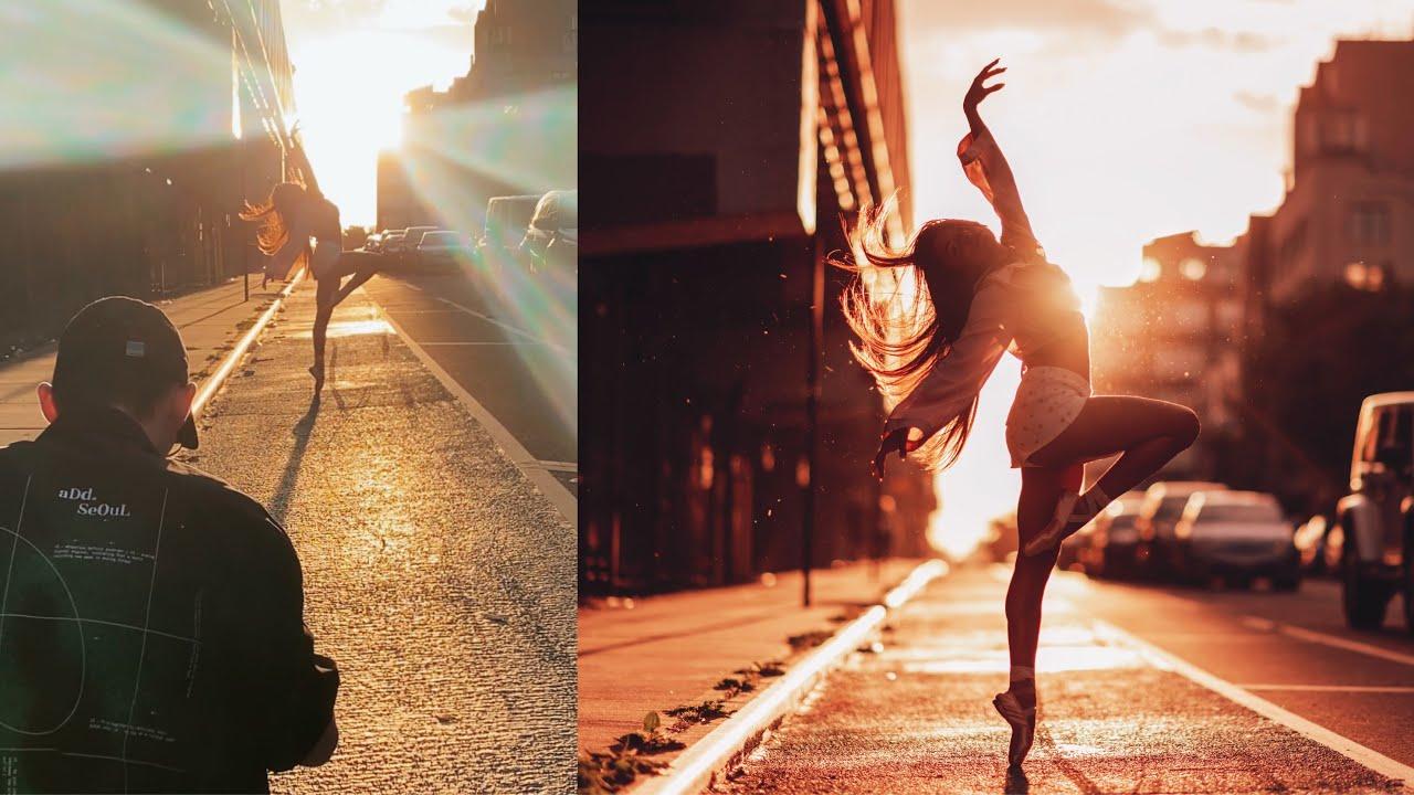 Portrait vs. Dance Photoshoot, Behind the Scenes