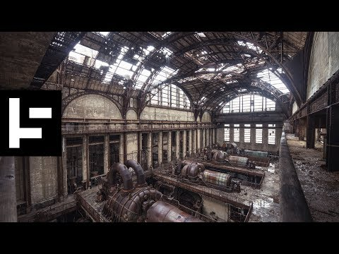 The abandoned Richmond Power Plant in Philadelphia
