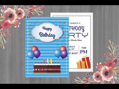 Permalink to Birthday Invitation Card Design Online Free