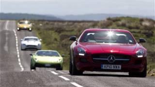 Mercedes Sls V Aston Martin Vantage V Porsche 911 V Lamborghini Gallardo - Autocar.Co.Uk