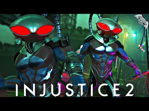 Injustice 2 Online - AWESOME BLACK MANTA COMBOS!