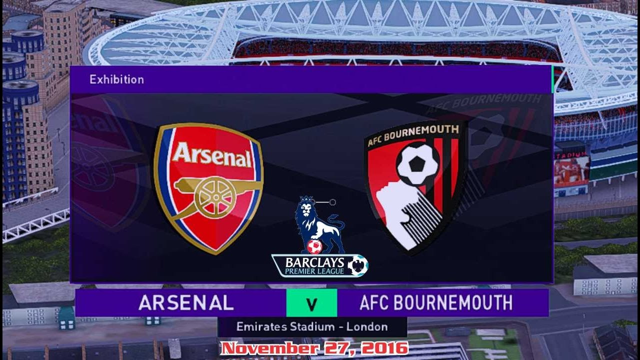 Download Arsenal vs Bournemouth 3-1 All Goals & Highlights 27/11/2016 | Cuplikan Gol Premier League 2016/2017