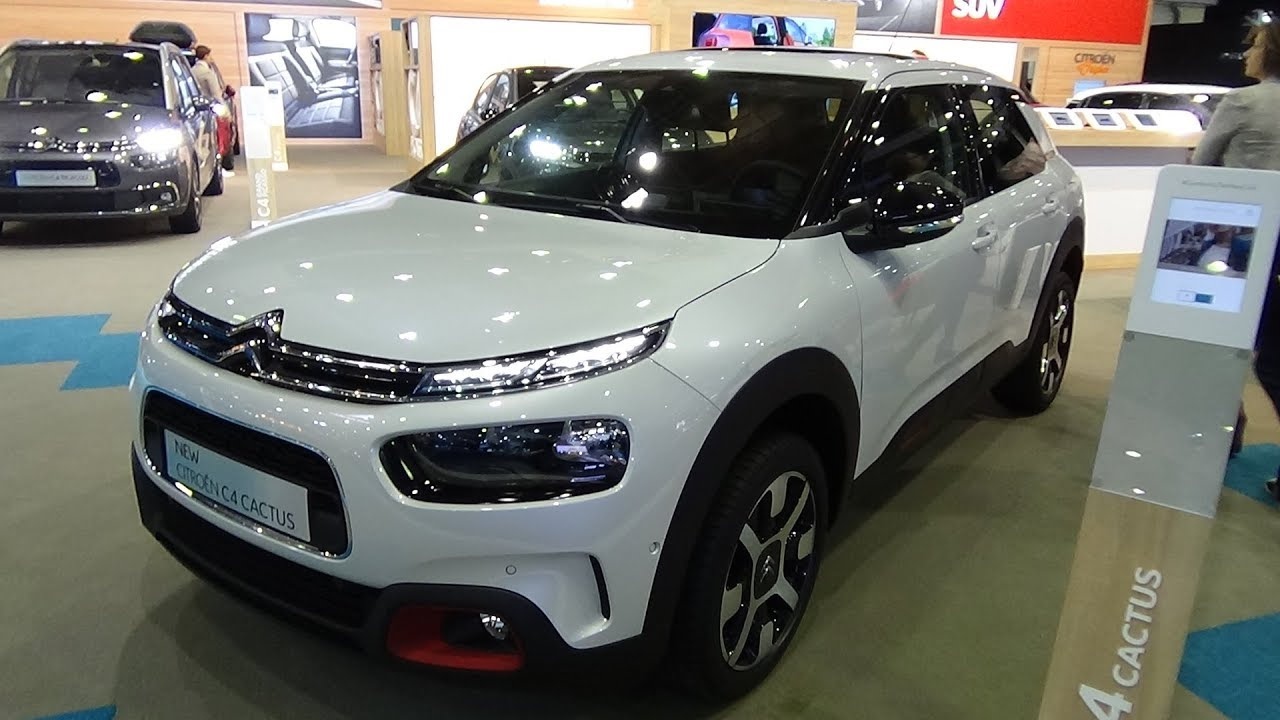 2018 citroen c4 cactus exterior and interior auto show brussels 2018 youtube. Black Bedroom Furniture Sets. Home Design Ideas