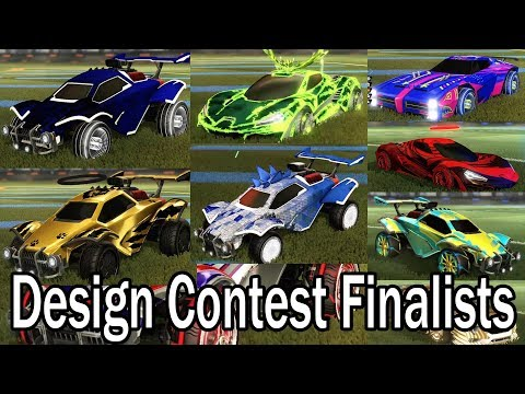 Car Design Contest Finalists - VOTE In This Video!! (+One Proud Scammer)