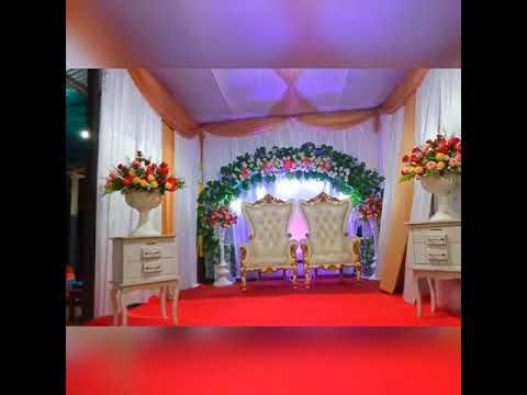 dekorasi pengantin sederhana. al islah decoration - youtube