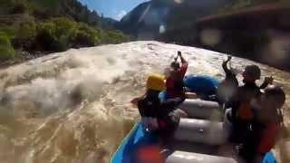 Rafting Shoshone Rapids at High Water