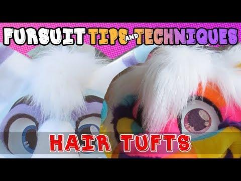 Fursuit Tips&Techniques: Hair Tufts