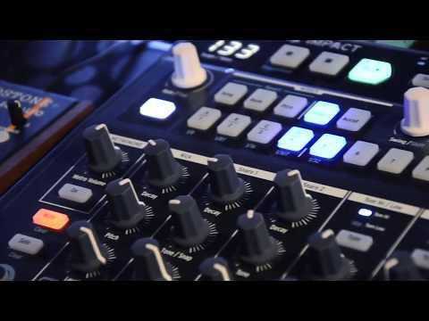 Treadstone-Analogue Solutions & Arturia-Drumbrute Impact simple Jam