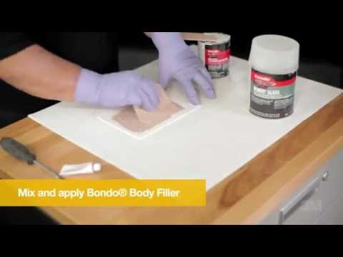 How To Repair A Rust Out with Bondo® Filler 3M Auto Fiberglass Tutorial Overview