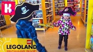 Германия #3 Леголенд шоппинг в Лего Сторе и едем на пару дней в Мюнхен Legoland go to Munich