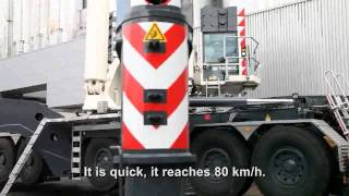 Video still for The Terex AC 1000 All Terrain Crane and Felbermayr Lifting at Müller Milch