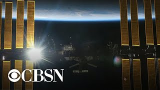 Astronauts preparing for a Sunday spacewalk to continue upgrades