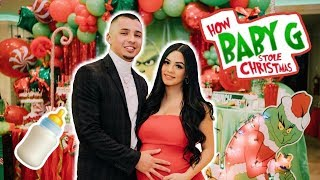 OUR BABYSHOWER | GRINCH THEME