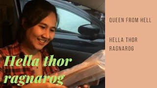 Unboxing and review mainan HELA THOR RAGNAROG ala pacar
