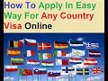 Apply Online : Best Website To Apply Any Country Visa