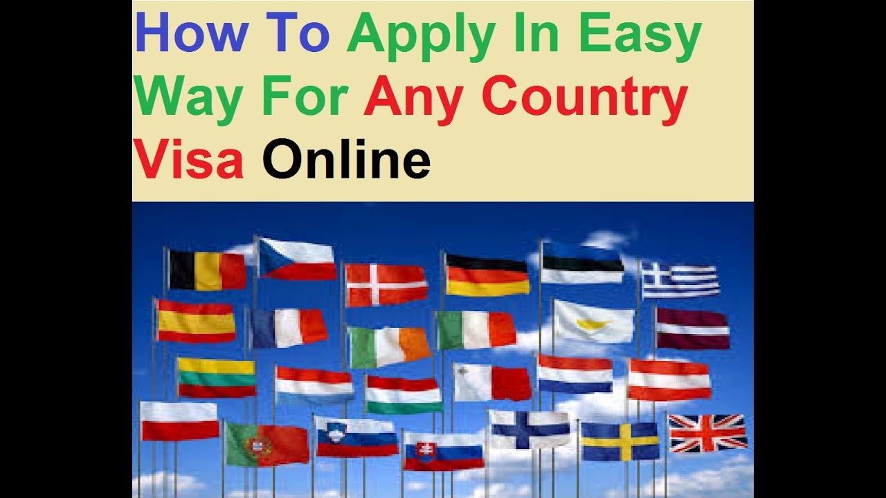 Apply Online : Best Website To Apply Any Country Visa - YouTube on