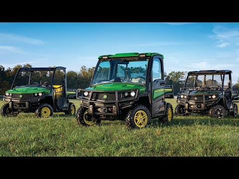 Introducing the New 2018 John Deere XUV835, XUV 865, HPX615 and HPX815 Model Gators