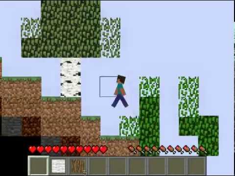 Бумажный Майнкрафт 2D - выживаем в 2д мире