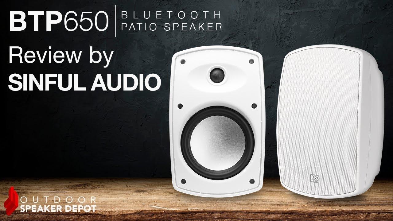 review btp650 outdoor patio speakers