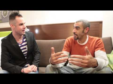Paul Morrell meets Leeroy Thornhill (of The Prodigy) Intervi