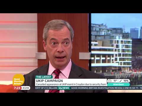 Nigel Farage Explains His Stance On Romanian Immigrants | Good Morning Britain