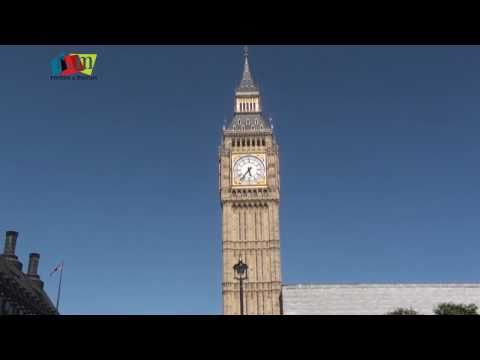 Big Ben Clock Tower - Most Famous London Icon UK by Rooms and Menus
