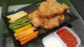 Cara Mudah Membuat Steak Ayam dan Saosnya | Resep Steak Ayam | Chicken Steak Recipe