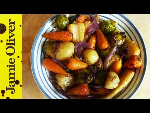 Roast Vegetables & British Bubble and Squeak with My Virgin Kitchen