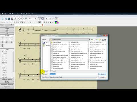 How to edit a Wikifonia lead sheet