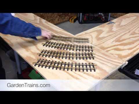Garden Trains: #004 : Building an Indoor Large Scale Railroad  : Freebie Railroad