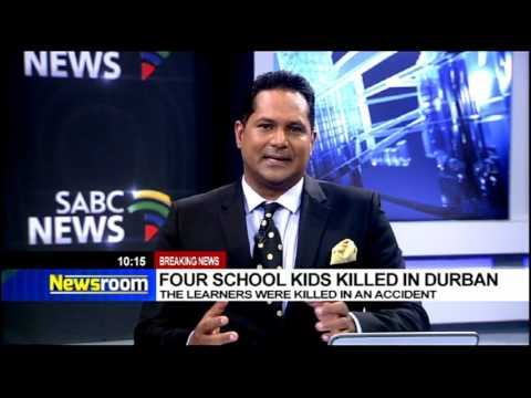 [Breaking News] Four school kids killed in Durban