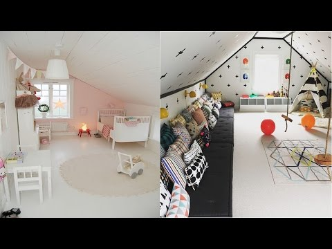 Cool Attic Kids Rooms And Bedrooms Ideas - Room Ideas