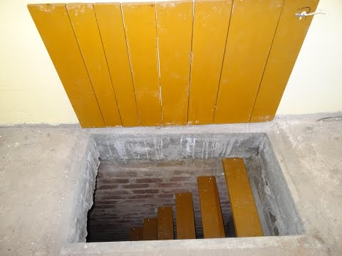 Лестница и крышка люка в подвал, погреб в гараже Как самому сделать удобную лестницу в погреб