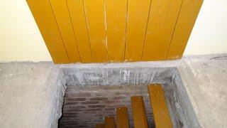 видео Лестница в подвал (погреб, гараж): как сделать своими руками, фото