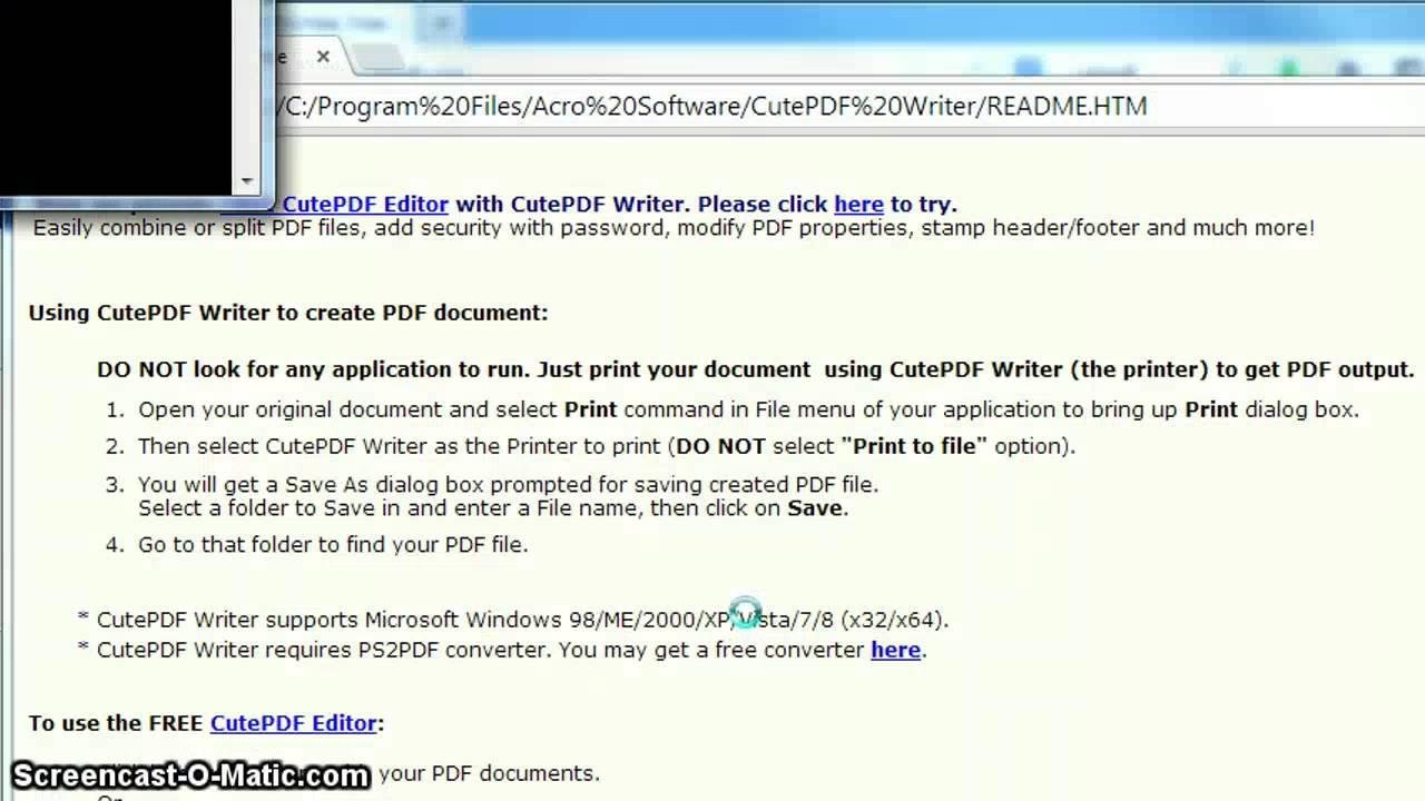 cute pdf editor